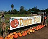 Promotional photo of a pumpkin patch sign. Courtesy of Fran's Original Farm Stand & Farm Stand West