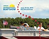 Promotional graphic for the 2015 Progressive Insurance San Diego International Boat Show