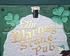 """Promotional graphic for The Blarney Stone Pub. """"A Bit Of Olde Ireland"""""""