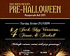 Promotional graphic for True North Tavern's Pre-Halloween Masquerade Ball.