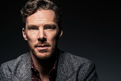 A publicity photo of actor Benedict Cumberbatch, who star...