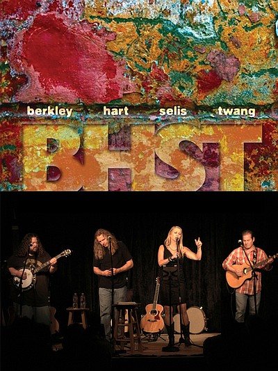 Promotional photo of Berkley Hart Selis Twang.