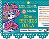 Promotional graphic for Mana de San Diego's Brindis Gala 2015.