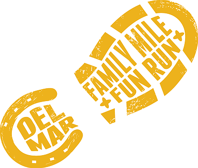 Del Mar Thanksgiving Family Mile Fun Run logo.