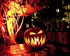 Promotional photo of a jack-o-lantern for The Del's Hallo-wine & Spirits® Party