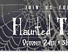 Promotional graphic for Haunted Tales.