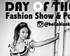 Promotional graphic for Day of the Doll Fashion Show at The Headquarters at Seaport.