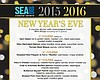 Promotional graphic for New Year's Eve at Sea 180.
