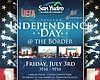 Promotional graphic for the San Ysidro Independence Day Festival.