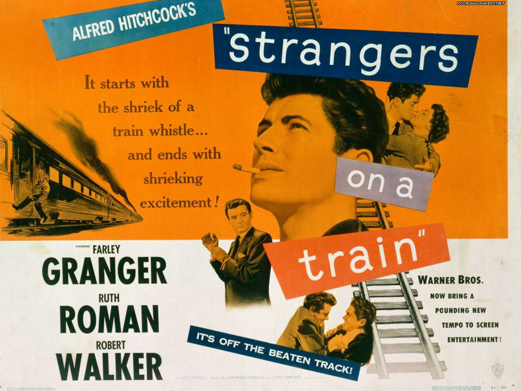 FILM FORUM: 'Strangers On A Train' - June 17, 2015 | KPBS
