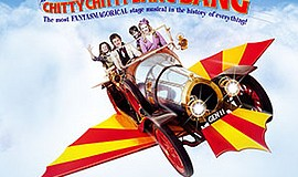 "A flyer for Junior Theatre's ""Chitty Chitty Bang Bang."""