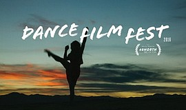 A promotional flyer for the 40 North Dance Film Fest