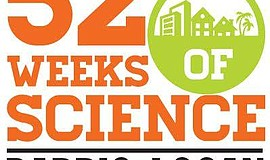 Logo for 52 Weeks of Science.