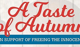 Cropped version of the promotional flyer for Taste Of Autumn In Support Of Fr...