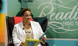 "AARP CEO Jo Ann Jenkins reads ""What Pet Should I Get,"" by Dr. Seuss. — in Was..."