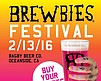 Promotional graphic for the 7th Annual Brewbies® Fest