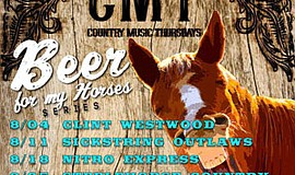 Promotional graphic for Country Music Thursdays at Mr. Peabody's