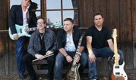 Promotional photo of Steal Dawn, kicking off Cape Rey's Summer Concert Series...