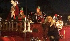 Promotional photo from Coronado's Annual Holiday Parade & Open House.