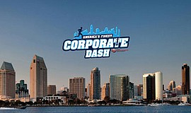 Promotional graphic for America's Finest Corporate Dash