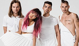 A photo of the band DNCE.