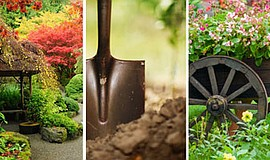 Promotional photo montage for the 27th Annual Fall Home/Garden Show
