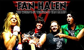 Promotional photo of Fan Halen. The band will be performing for House of Blue...