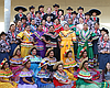 Promotional photo of Rancho Buena Vista High School's Ballet Folklorico, performing for the Mother's Day Celebration At The Flower Fields At Carlsbad Ranch®