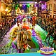 Promotional graphic for 2016 Mardis Gras in the Gaslamp.