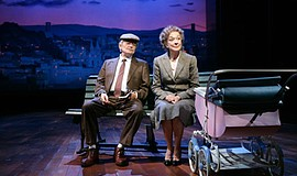 "Hal Holbrook as John and Dixie Carter as Maud in ""Be My Baby."""