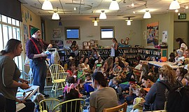 Promotional photo of Halloween Storytime & Trick-Or-Treat at La Jolla Riford ...
