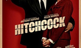 "Promotional film poster for ""Hitchcock,"" 2012."