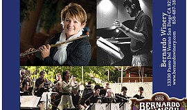Promotional photos of The Ira B. Liss Big Band Jazz Machine for the live conc...