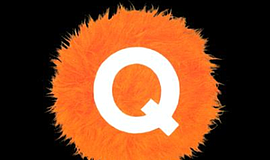 "The logo for the musical ""Avenue Q."""