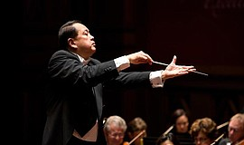 A photo of conductor Jahja Ling, courtesy of the San Diego Symphony.