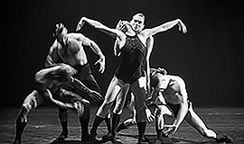 A photo of L-E-V Dance Company, courtesy of UC San Diego.