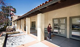 Exterior photo of La Jolla/ Riford Branch Library
