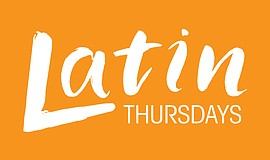 Promotional graphic for Latin Thursdays.