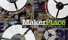 Promotional photo for the MakerPlace Open house. Courtesy of MakerPlace.
