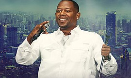 Promotional photo of comedian Martin Lawrence, courtesy of Harrah's.