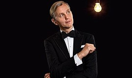 Photo of Max Raabe. Courtesy of La Jolla Music Society