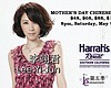 Promotional flyer featuring Lo Shi Fong And Irene Yeh. Courtesy of Harrah's Resort Southern California.