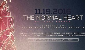"A promotional poster for Ion's ""The Normal Heart."""