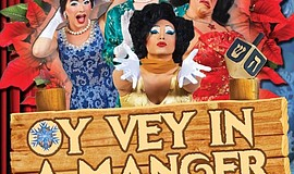 "Promotional photo for ""Oy Vey In A Manger."""