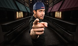 Promotional photo of comedian Pablo Francisco. He will perform at The America...
