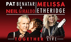 Promotional photo for Pat Benatar & Neil Giraldo and Melissa Etheridge.