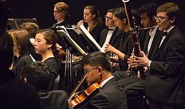 Photo of SDYS Chamber Orchestra. Courtesy of La Jolla Music Society
