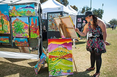 Promotional photo for the San Diego Festival of the Arts.