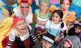 Promotional photo for Seaworld's Halloween Spooktacular.