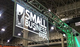 Promotional photo for the Small Business Expo.